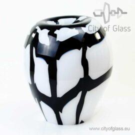 Glass lamp Check by Loranto - 36 cm