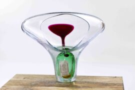 adam Jablonski glasobject groen,