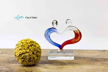 glasbeeldje love,