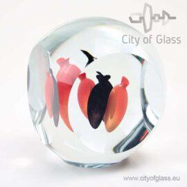 glazen object Dice - Svoboda