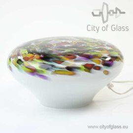 Glass lamp Murrina Stone by Loranto