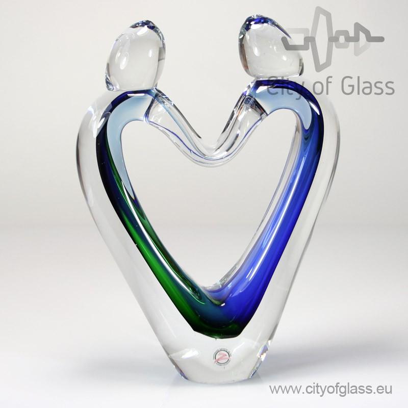 Glassculptuur Verbondenheid