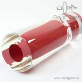 Kristallen vaas Red - V. Solnicka