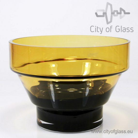 Design vaas Amber/zwart