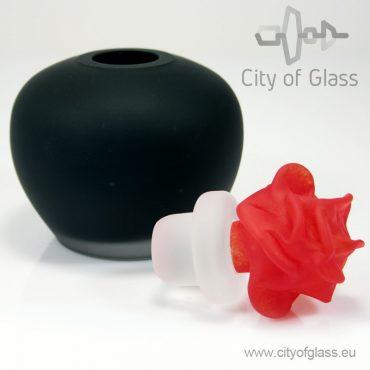 Mini urn met roos