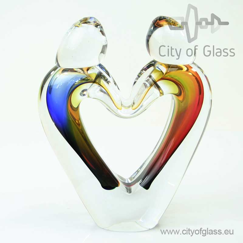 Kristallen sculptuur Verbondenheid van Ozzaro - 20 cm