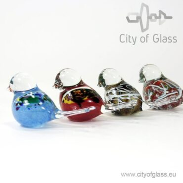 Glass bird by Loranto