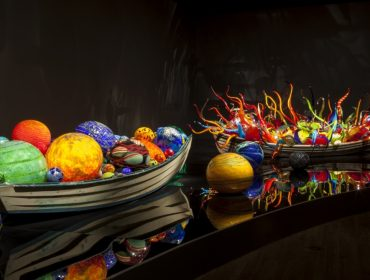 Dale Chihuly Float Boat and Fiori Boat