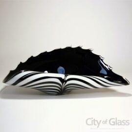 Schaal zebra Black&White