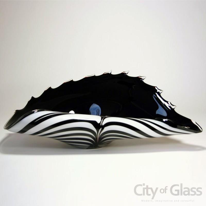 Oesterschaal Zebra van Loranto - 45 cm