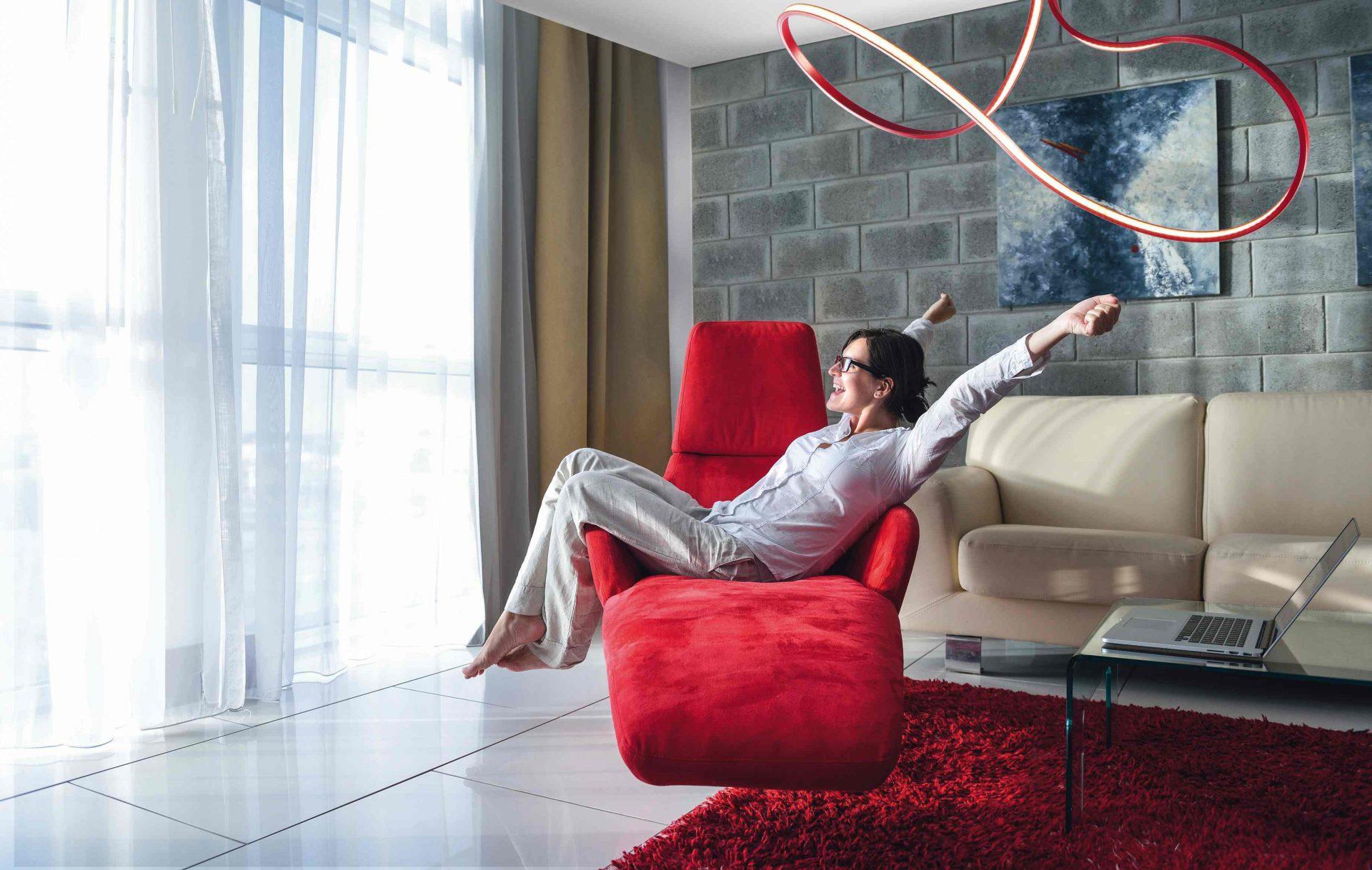 Moderne Lamp Lungo