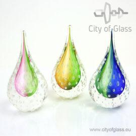 """Kristallen druppel """"Bubble"""" van Ozzaro"""
