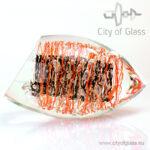 """Kristallen object """"Color Lines"""" van Ozzaro"""