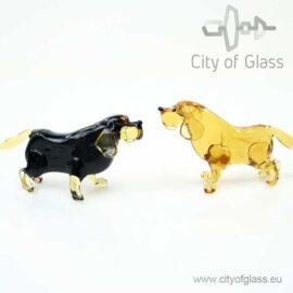 Glazen figuur hond - labrador van Loranto