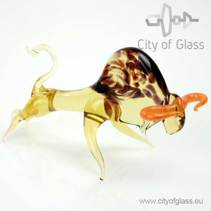 Glazen figuur Stier van Loranto