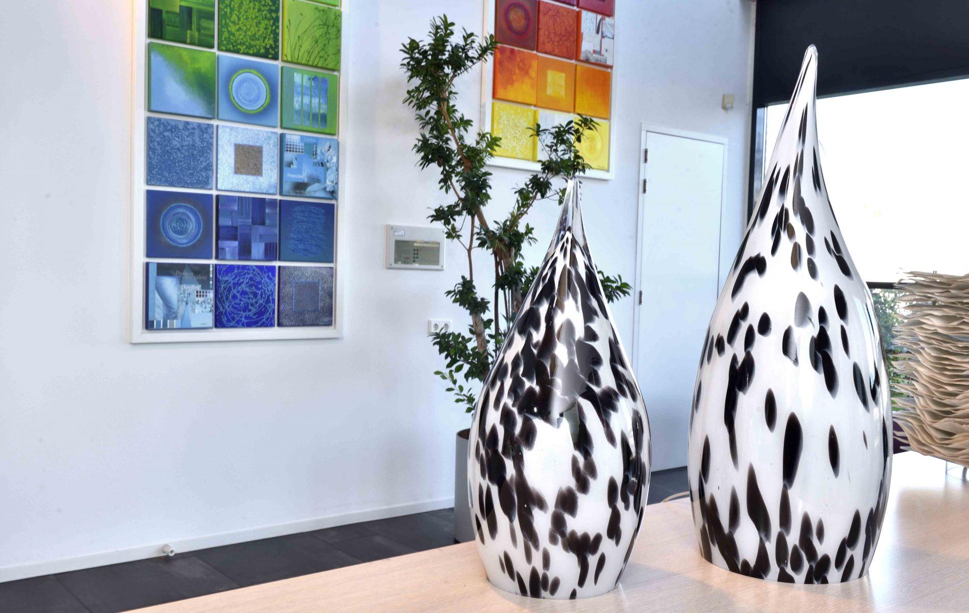 Glazen Lamp 'Dalmatiër' Casper
