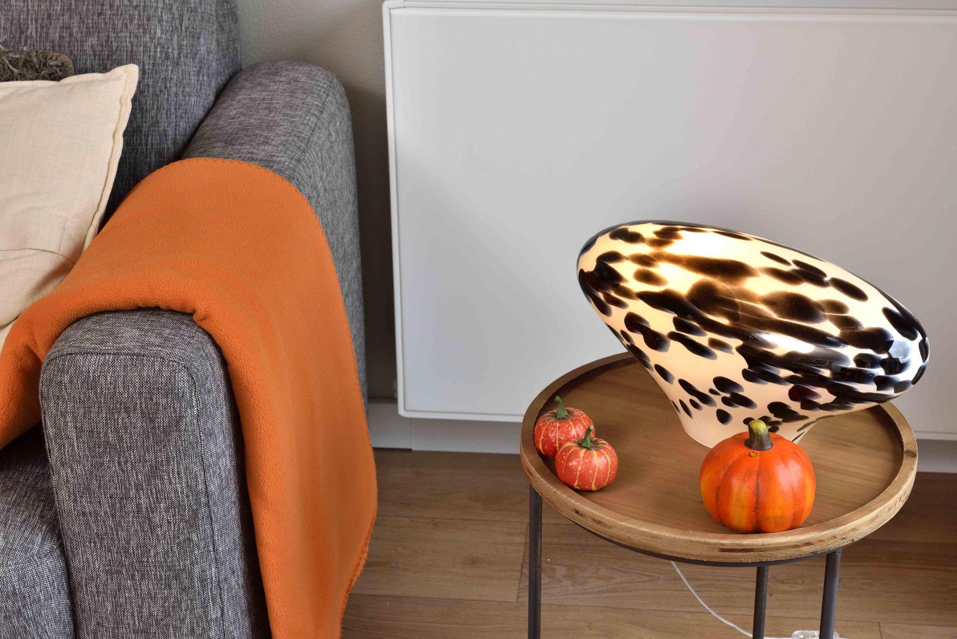 Glazen Lamp 'Dalmatiër'