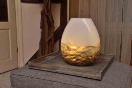 glazen lamp