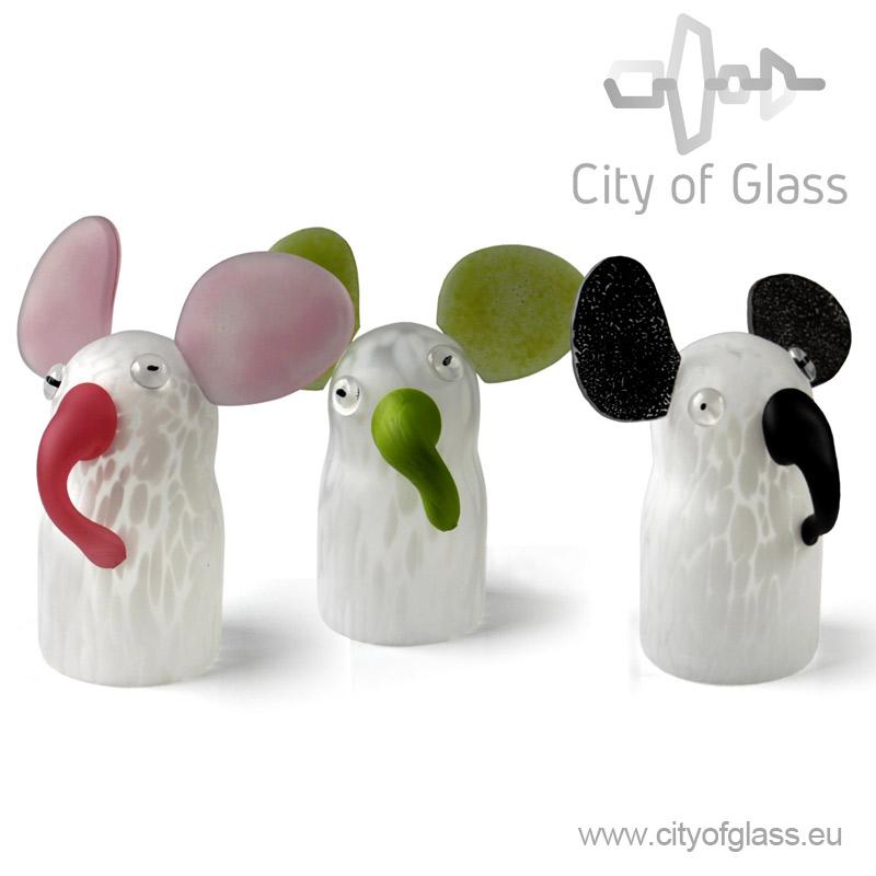Glazen olifant van Ozzaro