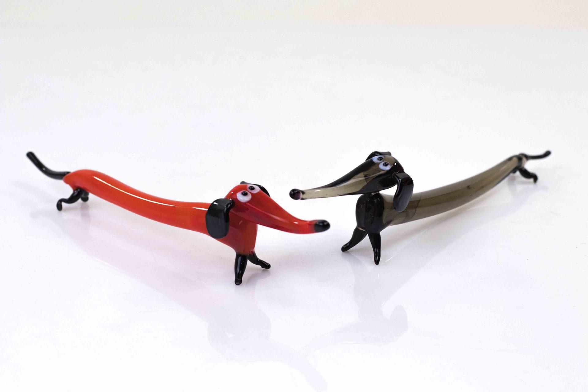 Teckel Rood en Zwart