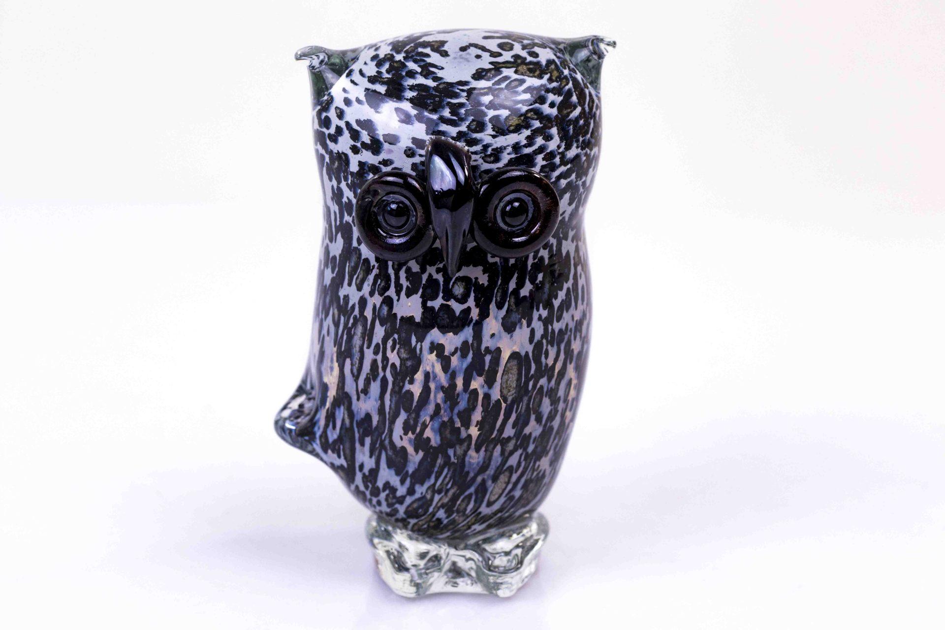 Glazen Uil luxe Glasgeschenk