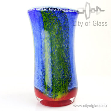 Glazen vaas Marine van Loranto - 38 cm
