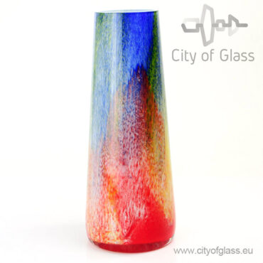 Glass vase Marine by Loranto - 35 cm