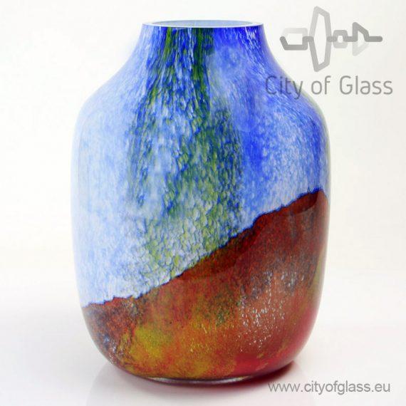 Glazen vaas Marine - 30 cm