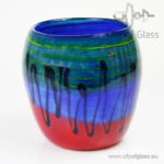Glazen vaas Horizon - 22 cm