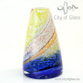Glazen vaas Palette - 23 cm