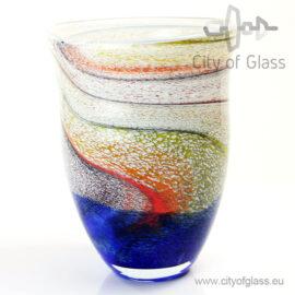Glazen vaas Palette - 32 cm