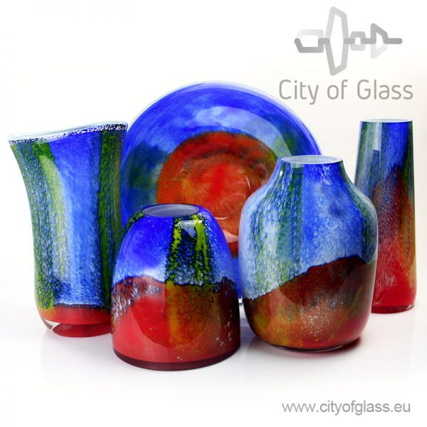 Glass vases Marine
