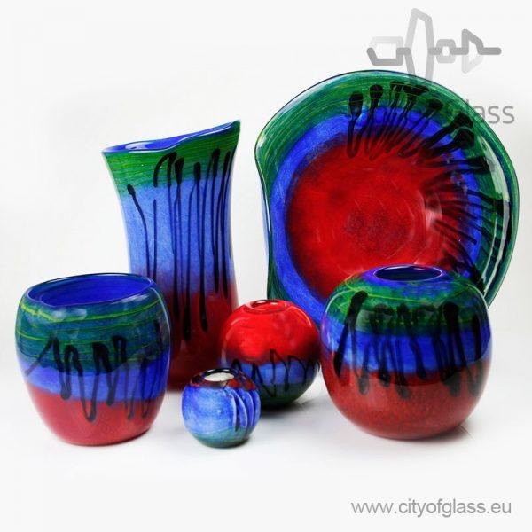 Glass vases Horizon