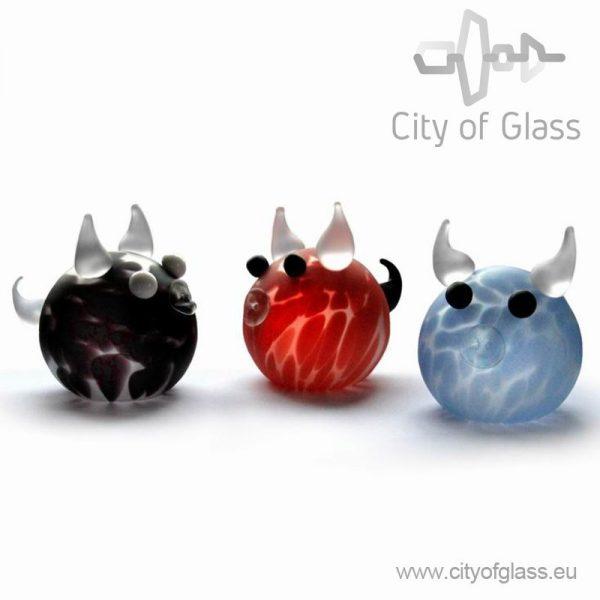 glazen koe van Ozzaro