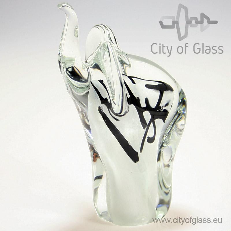 Glazen olifant van Loranto