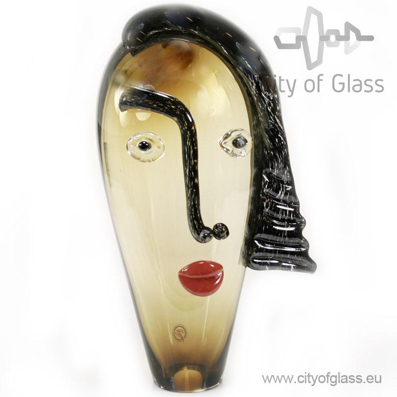 Glazen hoofd - groot