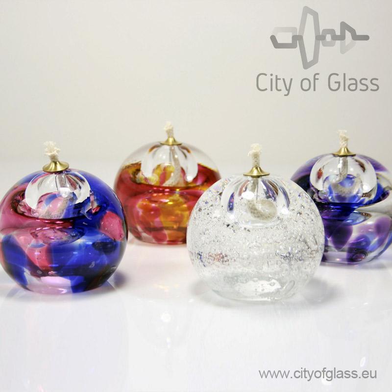 kristallen olielampje van Ozzaro
