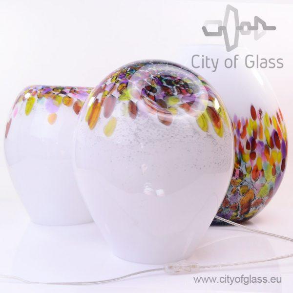 Glass lamps Murrina by Loranto