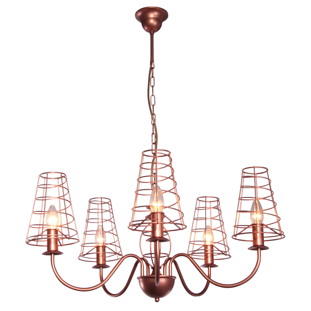 Koperen Lamp Luxor