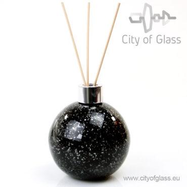 Glazen diffuser van Loranto - bol zwart
