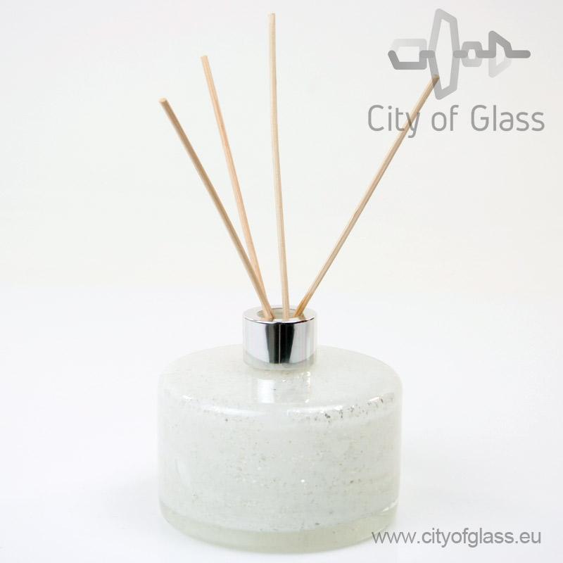Glazen diffuser - cilinder wit