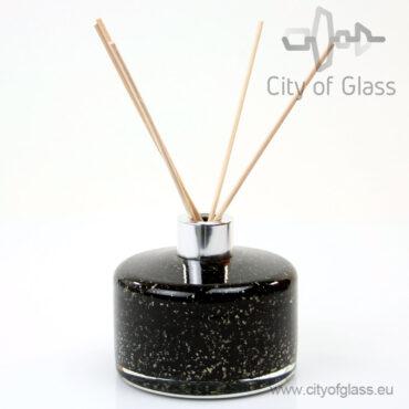 Glazen diffuser - cilinder zwart