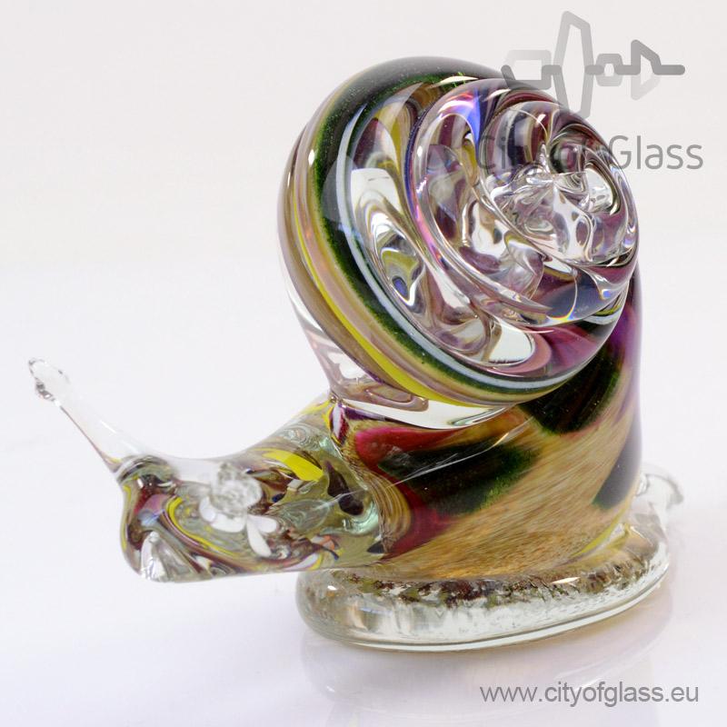 Glazen slak van Loranto - bruin