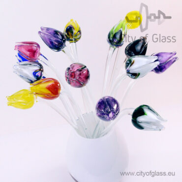 Glass tulips by Loranto
