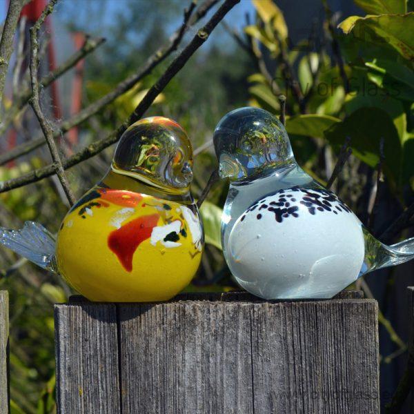 Glass bird by Loranto