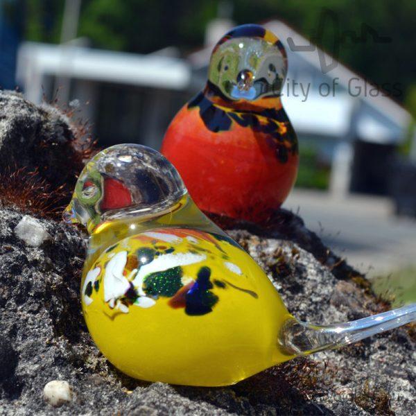 Glazen vogeltje van Loranto