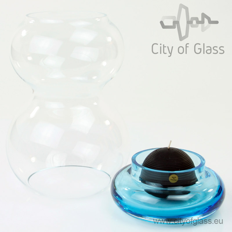 Glass light Transparent - blue