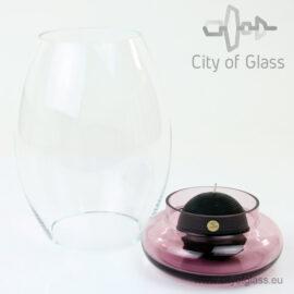 Glass light Transparent - purple