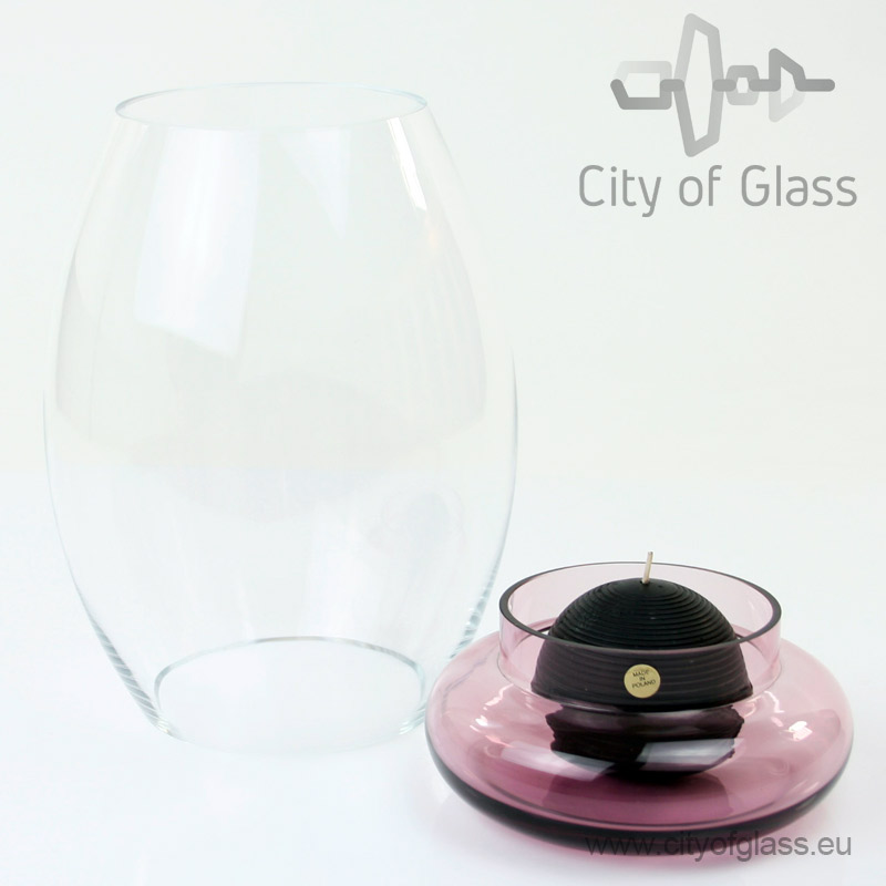 Glass light Transparent - purple