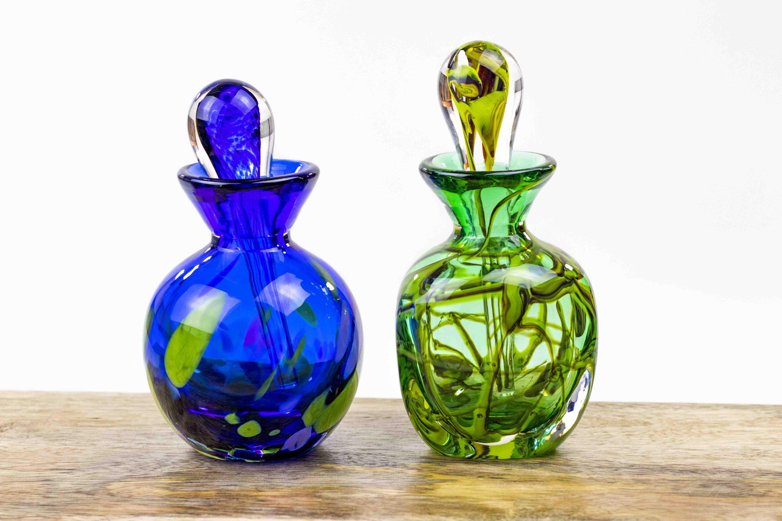 Parfumflesjes van Boheems Kristal - Decoratief